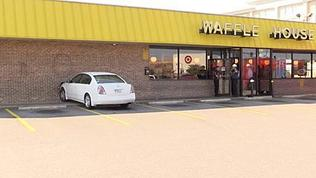 Video: Car Smashes Into Waffle House
