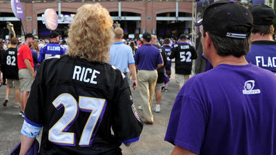 Ravens announce details of Ray Rice jersey exchange
