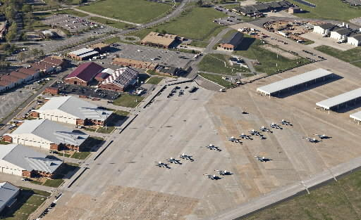 Langley Air Force Base could see its potential reductions in force cut in half, if it successfully woos a support center and new Air National Guard unit.