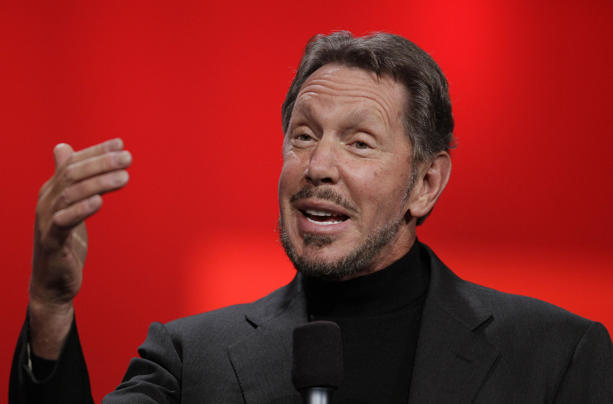 Larry Ellison steps down as Oracle CEO, becomes chairman, tech chief