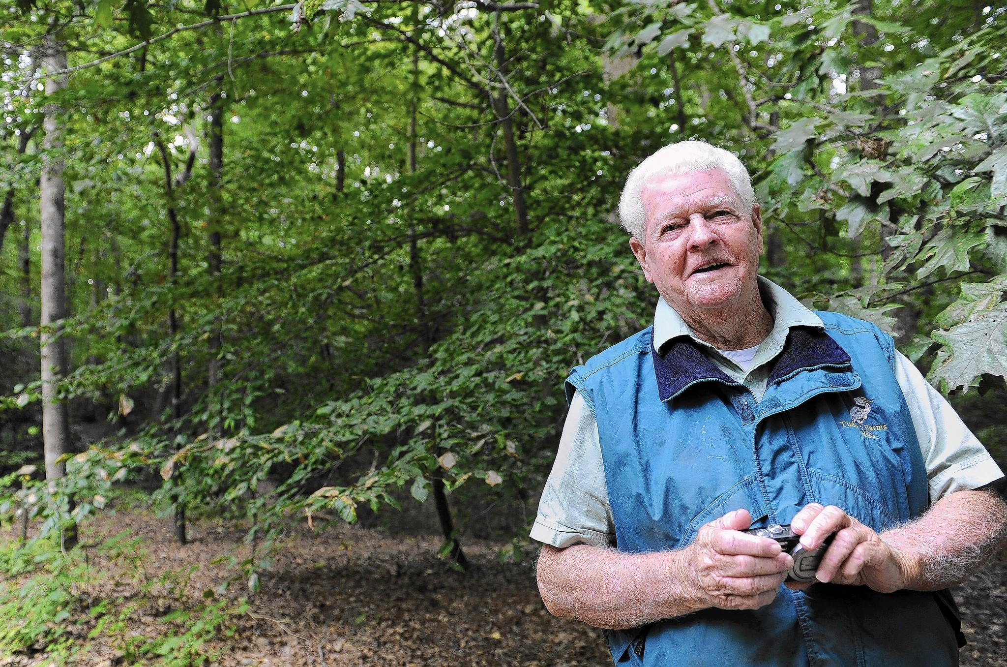 "Guy Willey, of Cambridge, spent nearly 40 years in an effort to increase the population of the Delmarva Fox Squirrel. ""I'm no star at all,"" he said. ""I was the guy who got all the chiggers and ticks and poison ivy."""