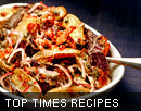 Top Times recipes from 2008