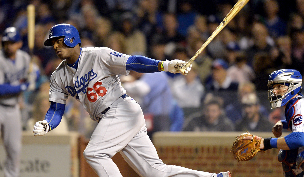 Dodgers rally in seventh inning to beat Cubs, 8-4