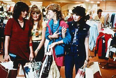 """Like, shopping is fun with the gals from """"Valley Girl"""""""