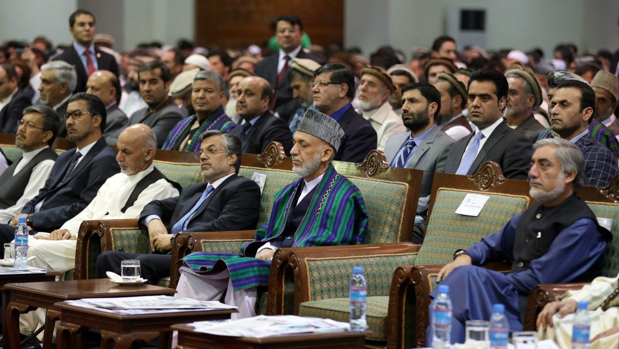 Afghan rivals apparently agree on unity government