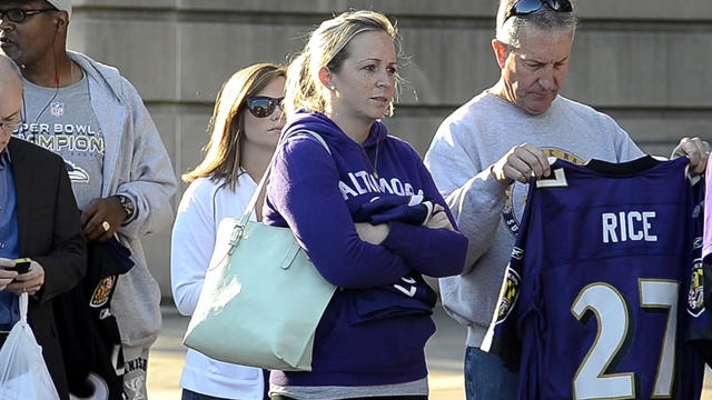 Ray Rice jersey return turnout heavy [Video]