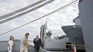 Video: MV Cape Ray returns to Portsmouth