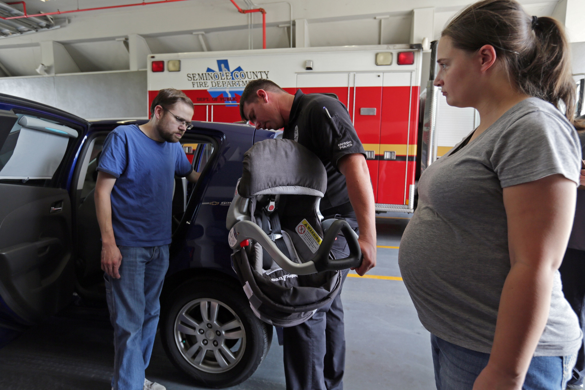 Seminole County Safe Kids And The Fire Rescue Department Conducting Free Car Seat Check