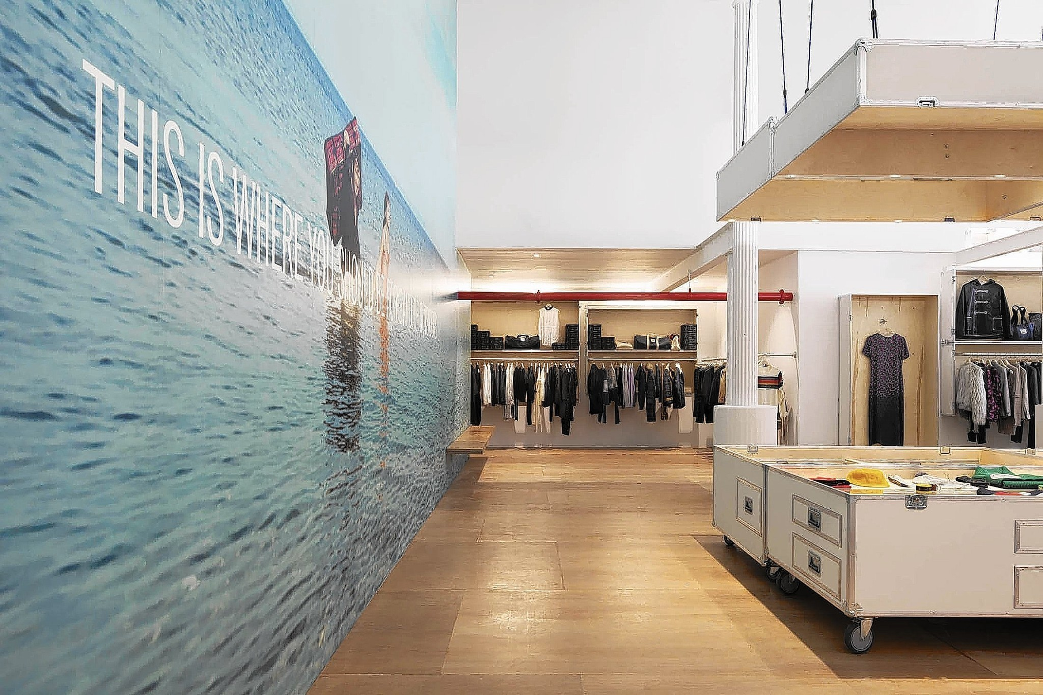 Band of Outsiders opens store in New York with an L.A. vibe