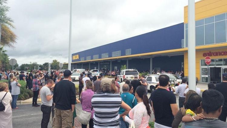 IKEA Orlando evacuated