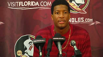 Florida State suspends Winston for entire game [Video]