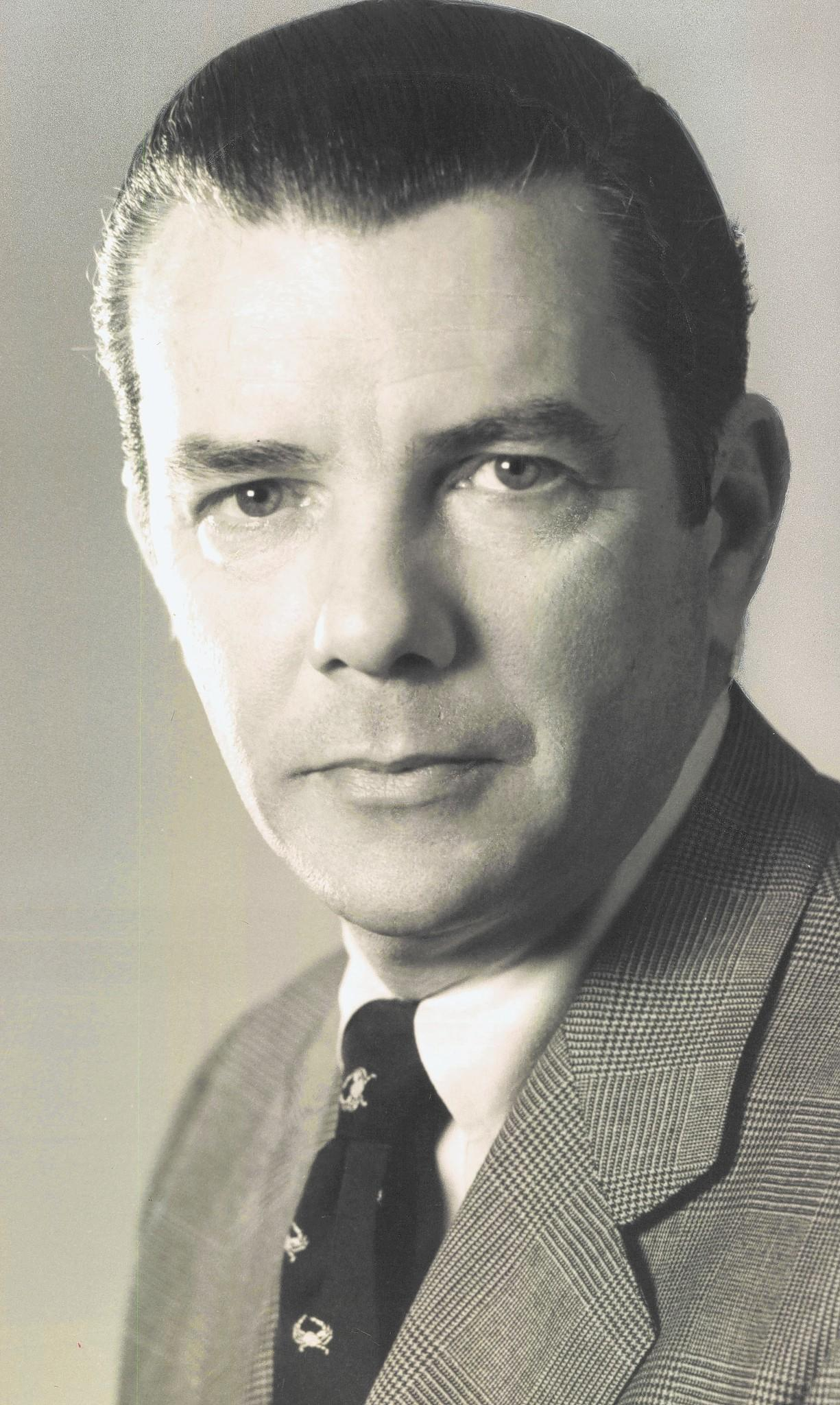 John G Schisler, shown in 1978