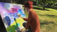 Artists bring creative process outdoors for Hopkins 'paint out'