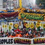 Thousands pack New York's streets to march against climate change