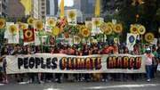 New York climate march draws hundreds of thousands