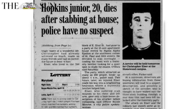 Crime Scene - Murder of Christopher Elser [Video]