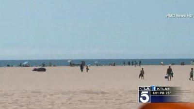 Another person run over on Santa Monica beach? Could be twice in 1 week