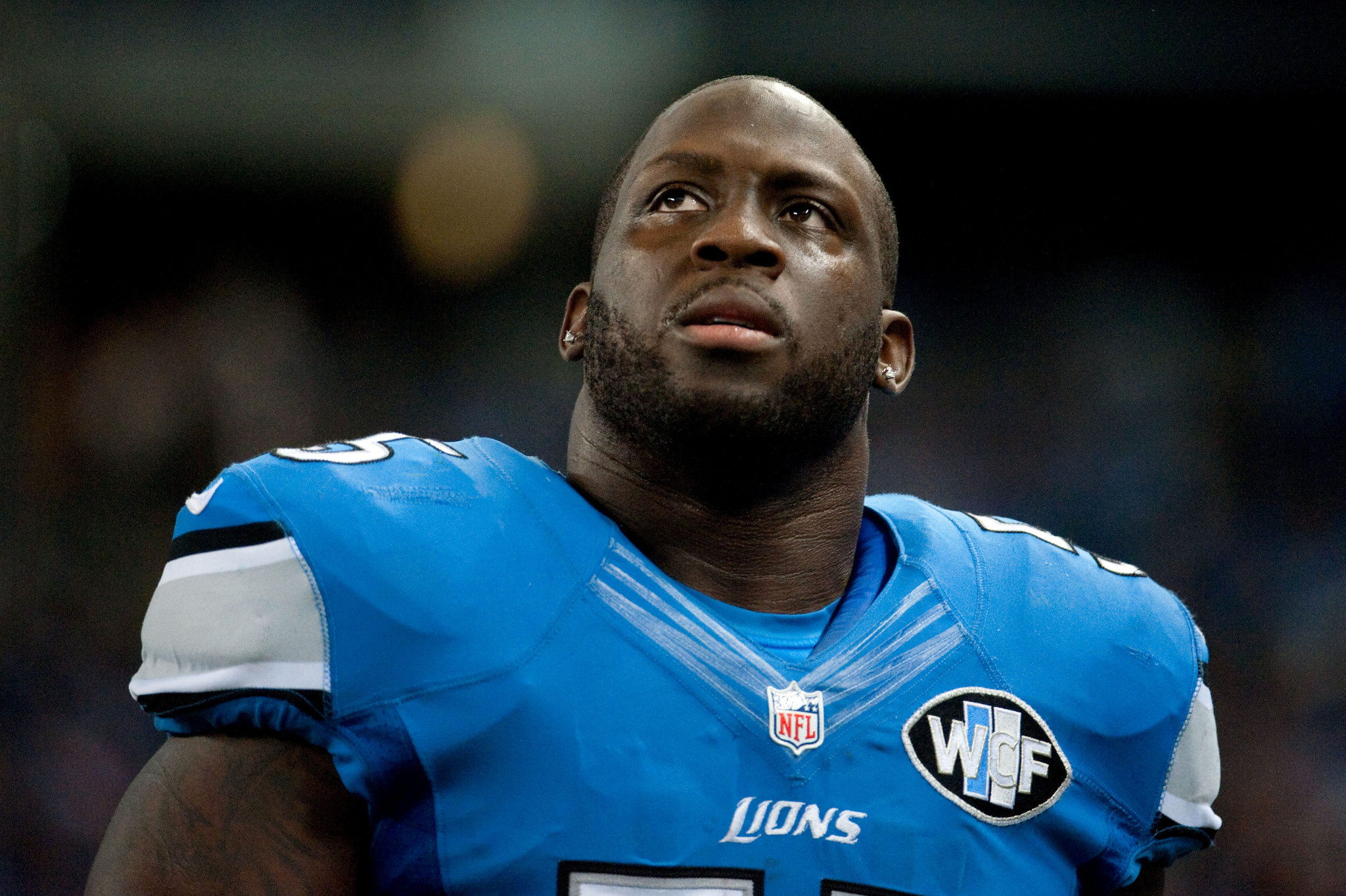 Lions' Stephen Tulloch suffers torn ACL during sack celebration