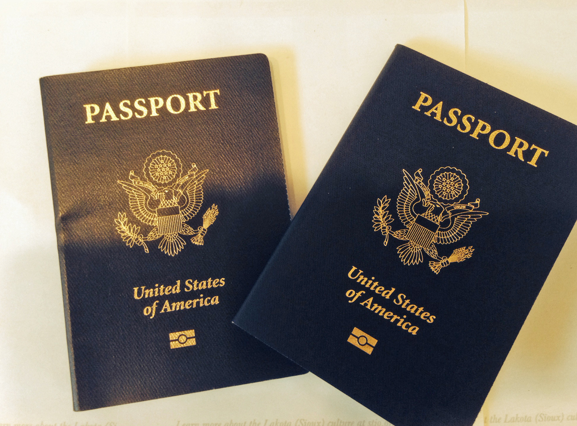 For National Passport Awareness month some info on year rule