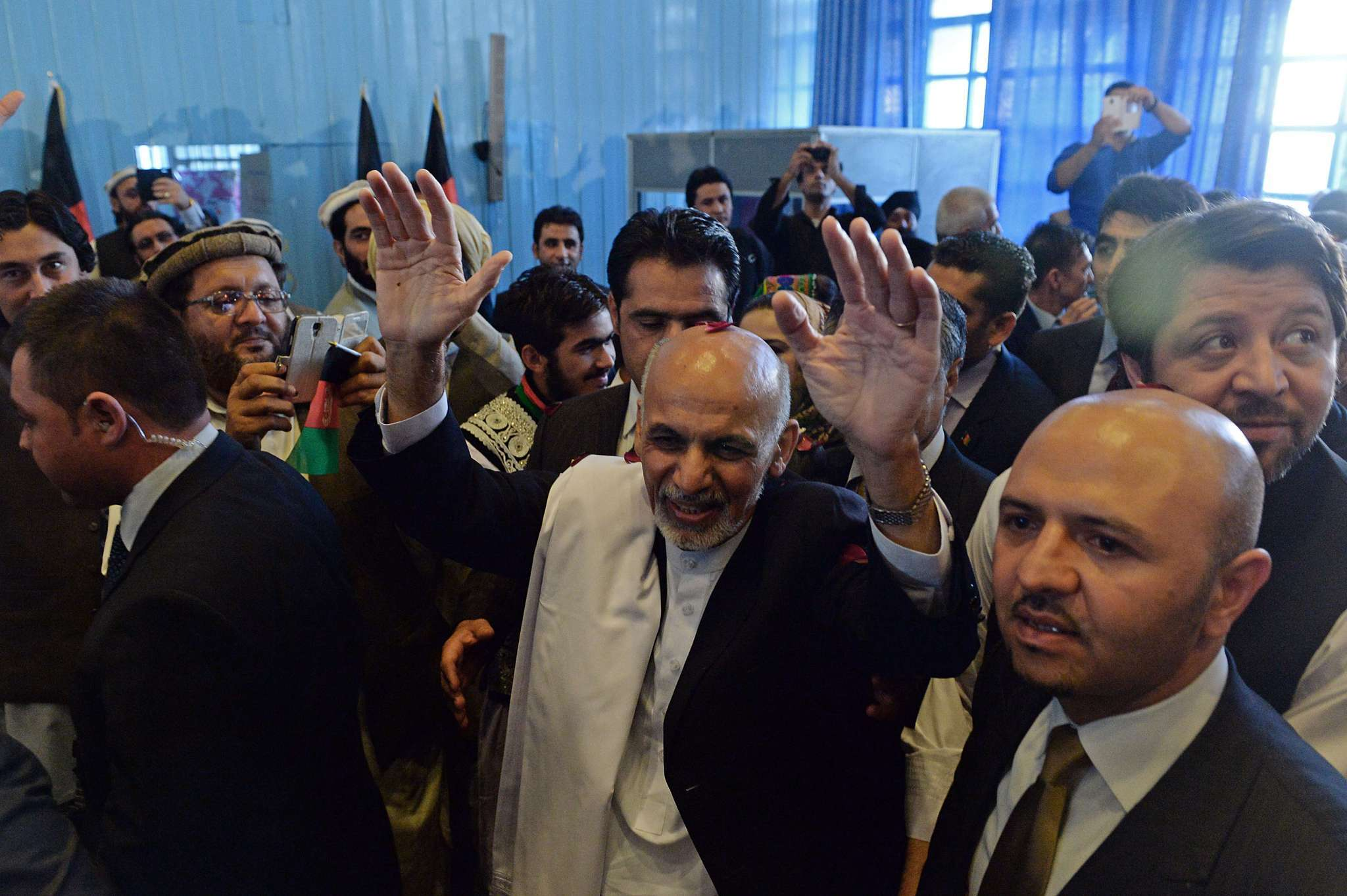 Afghan President-elect Ashraf Ghani vows to build a strong government