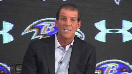 Ravens' Bisciotti: 'Nobody losing their job here' [Video]