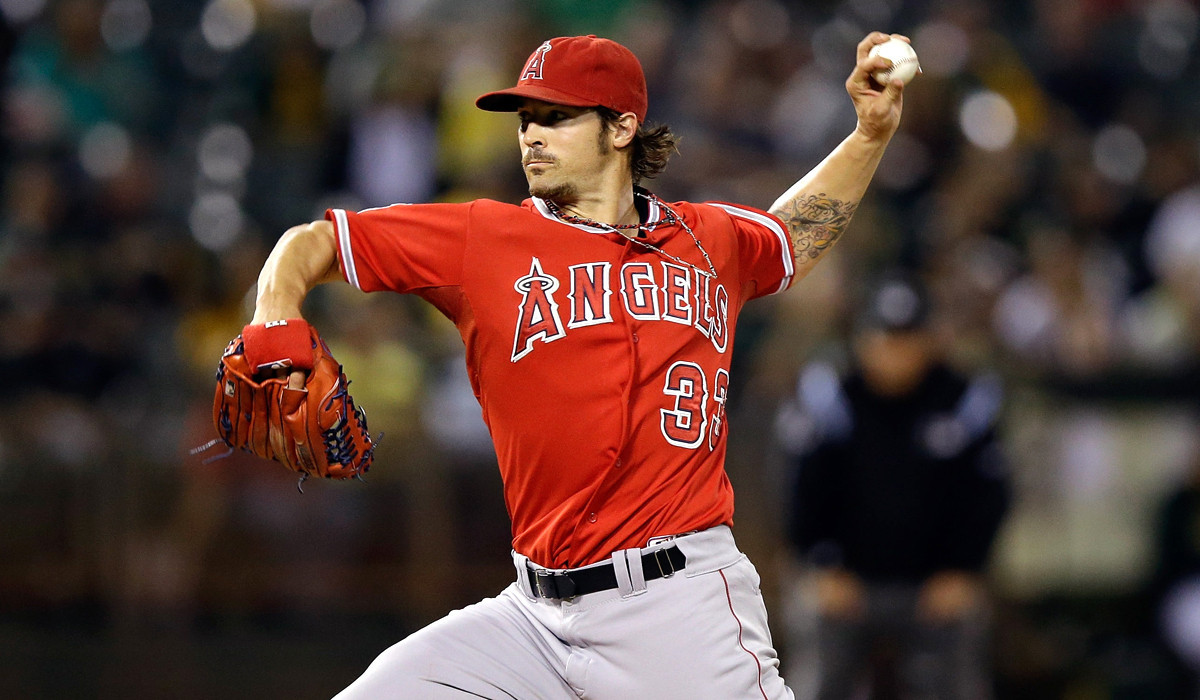 C.J. Wilson falters early in Angels' 8-4 loss to A's