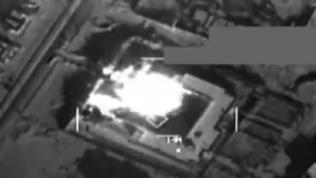 Video: U.S. strike on ISIL Storage Facility