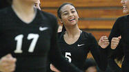 Photo Gallery: Glendale vs. Burroughs Pacific League girls' volleyball