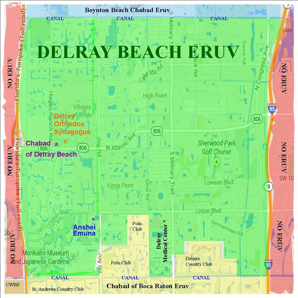 Delray Beach Eruv created in time for High Holy Days Sun Sentinel