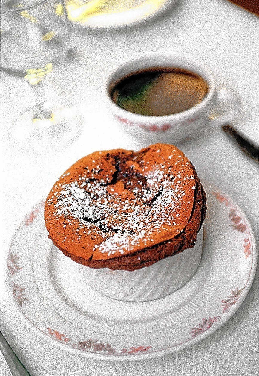Le Coq au Vin's recipe for Chocolate Souffle - Orlando ...