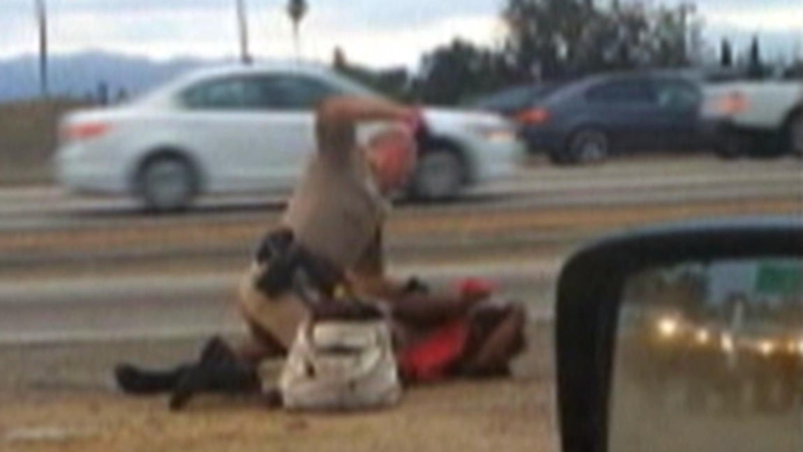 CHP officer altercation