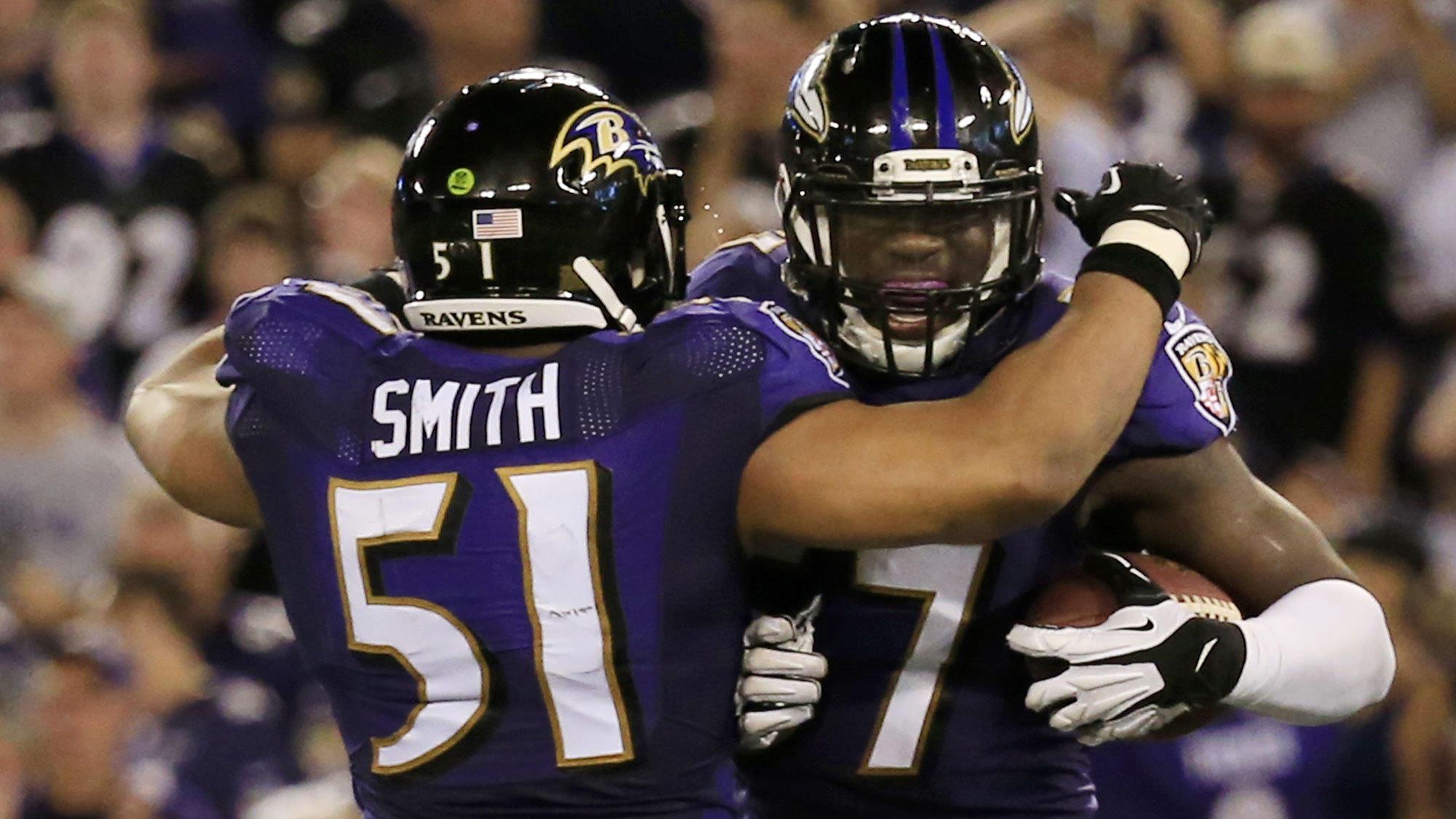 Athletic Panthers linebacker Luke Kuechly gave hope to Ravens