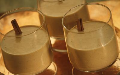 Pumpkin-spiced egg nog
