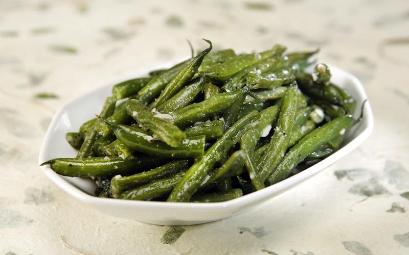 Ellis Island's green beans