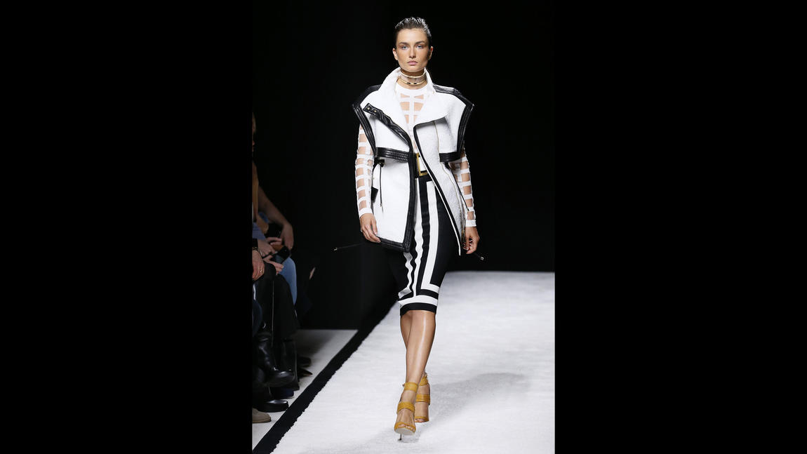 Paris Fashion Week: Balmain