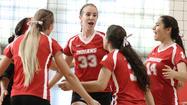 Photo Gallery: CV vs. Burroughs girls volleyball