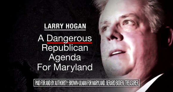 Anthony Brown campaign ad screenshot