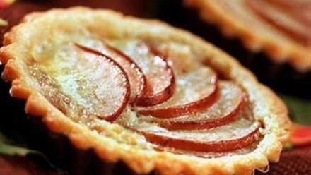 Asian pear tart