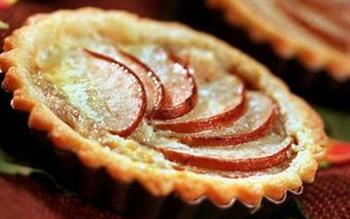 Asian pear tart