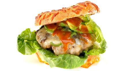 Hoad's hot jalapeno burger