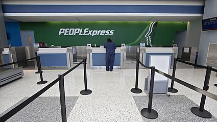 Video: People Express cancels flights