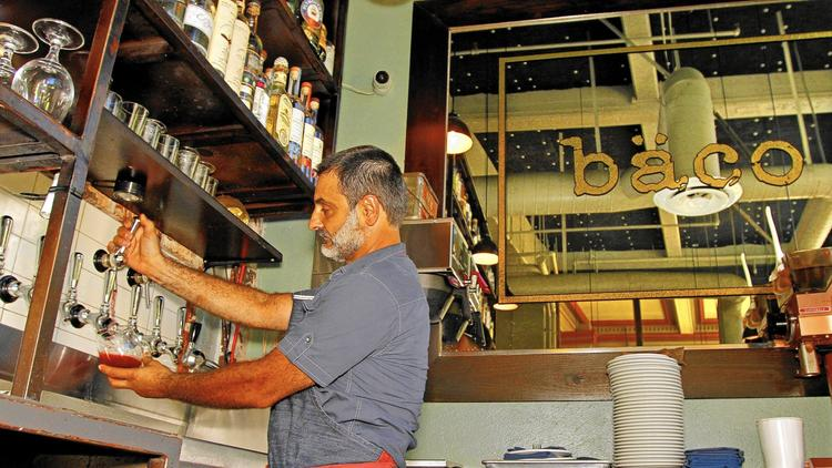Wines on tap at L.A. area restaurants