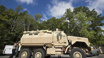 Video: York-Poquoson Sheriff's Office acquires MRAP vehicle