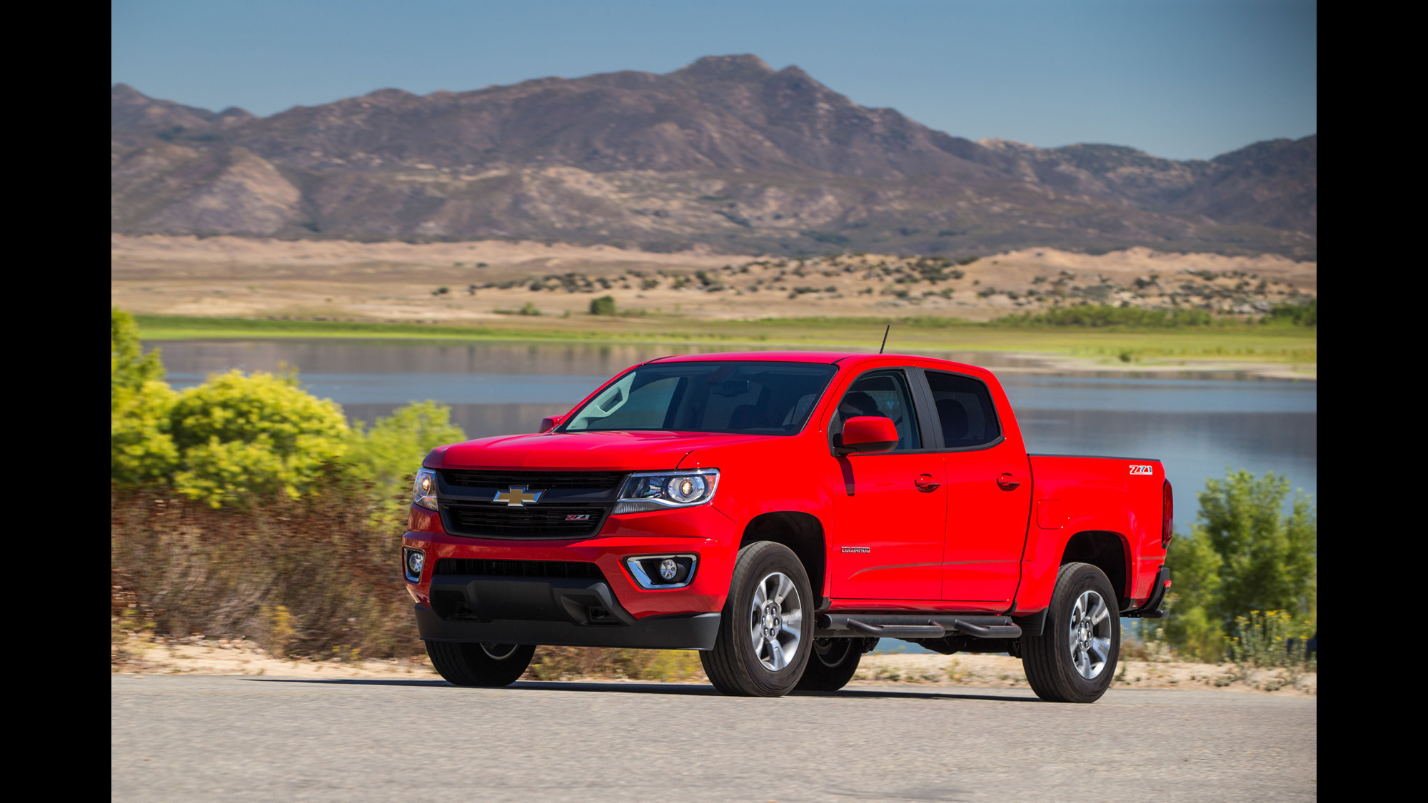 review all new chevy colorado gmc canyon add vigor to mid size truck segment la times. Black Bedroom Furniture Sets. Home Design Ideas
