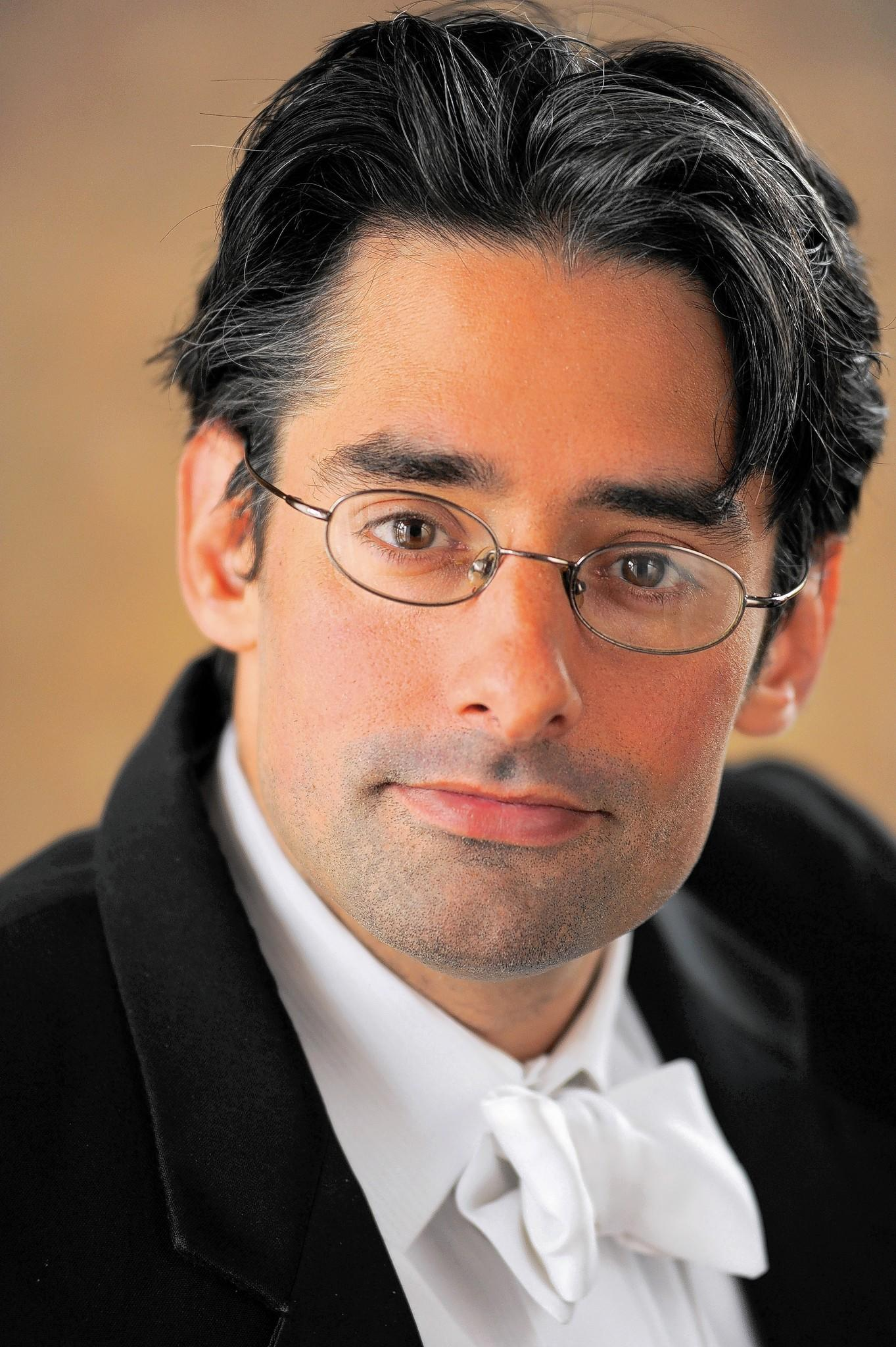"Conductor Anthony Barrese, who will lead the Baltimore Concert Opera performances of Franco Faccio's forgotten work, ""Amleto,"" Oct. 2 and 5, 2014."