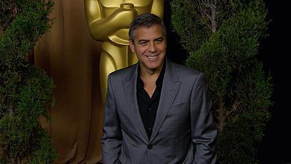 Sorry Ladies, George Clooney Is a Married Man [Video]