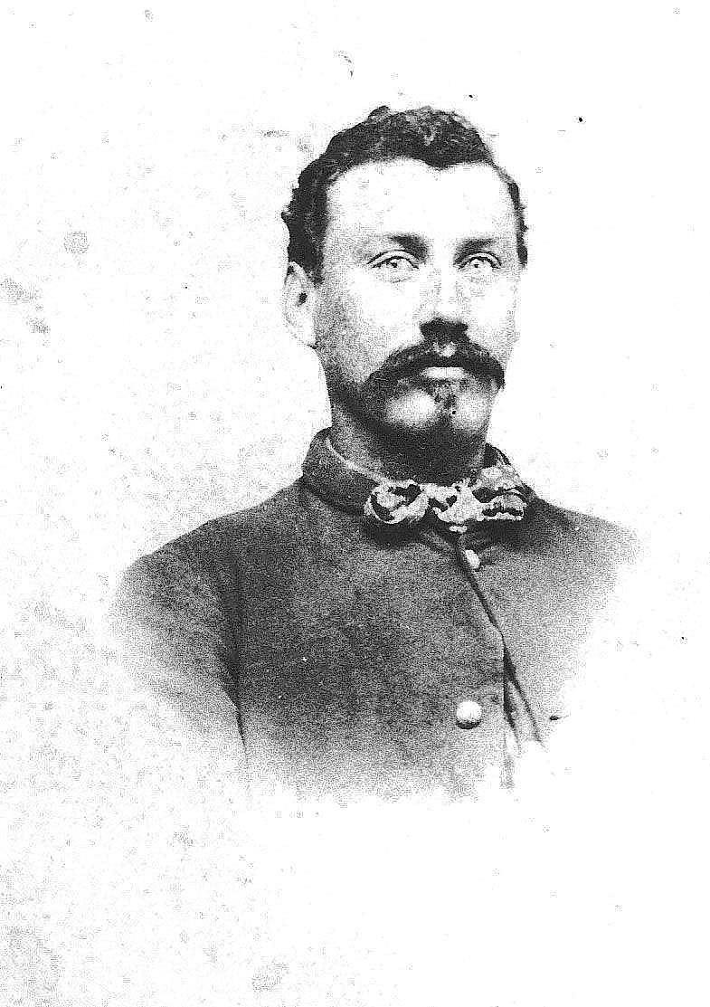 Historical picture shows Joe Allen, a great uncle of Annapolis resident George Hughes, who served as a Union soldier in the Civil War. Hughes documented that his relative trained at a site called Camp Harris in Annapolis, which also may have been the site of Camp Parole. Some historians think the camp may have been located at a site now known as Crystal Spring, where a major senior living and mixed-use development is proposed.