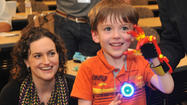 Kids outfitted with new hands made on 3-D printers