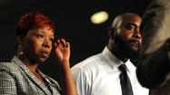 Michael Brown's parents come to Baltimore to help information initiative