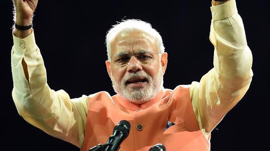 Modi rocks Madison Square Garden